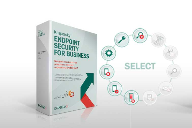 قابلیت های آنتی ویروس کسپرسکی Kaspersky Endpoint Security for Business-Select